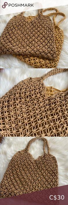 Summer Woven Instagram Bag Brand new Handmade Bags Hobos Gucci Hobo Bag, Woven Beach Bags, Suede Handbags, Gucci Bamboo, Juicy Couture Bags, Summer Bags, Black Purses, Handmade Bags