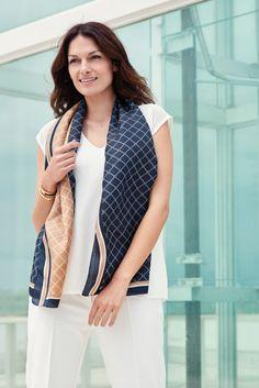 Lasessor Collection on Lasessorin premium-tuotteiden ajankohtainen verkkokauppa. Silk Scarves, Shawl, Blazer, Summer, Jackets, Accessories, Collection, Women, Fashion