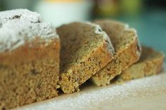 Budin Integral de Naranja / Whole Wheat Orange Vegan Loaf
