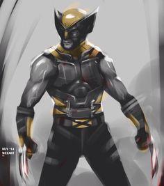 Wolverine ( X-Men ) // Marvel // Art Marvel Wolverine, Wolverine Movie, Logan Wolverine, Marvel Vs, Marvel Dc Comics, Demolition Man, My Superhero, Superhero Characters, Wolverine Comics
