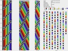 21 around tubular bead crochet rope pattern Crochet Bracelet Pattern, Crochet Beaded Bracelets, Beaded Necklace Patterns, Bead Crochet Patterns, Bead Crochet Rope, Beading Patterns, Bead Loom Designs, Beading Projects, Friendship Bracelet Patterns