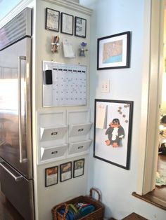 Family Command Center Ideas - Organizing Family Schedules - Good Housekeeping