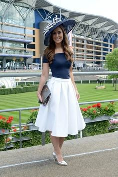 8445bd2d6b84f Royal Ascot 2014 Love this style for wedding guest