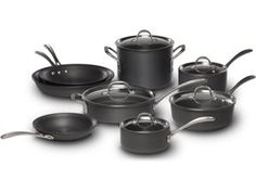 13-pc. Commercial Hard-Anodized Cookware Set by Calphalon by Calphalon at Cooking.com