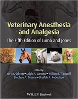 Veterinary Library: Veterinary Anesthesia and Analgesia