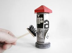 DIY Advertising Column by Zupagrafika on Packaging of the World - Creative Package Design Gallery