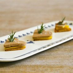 Foie gras with mango