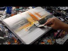 "Abstract art painting / Abstract painting in acrylics / by Roxer Vidal"" - - Abstract art painting / Abstract painting in acrylics / by Roxer Vidal"" Art Tutorials Abstrakte Kunstmalerei / Abstrakte Malerei in Acryl / von Roxer V … Acrylic Painting Lessons, Acrylic Art, Diy Painting, Abstract Painting Techniques, Easy Paintings, Art Auction, Abstract Art, Abstract Paintings, Buy Art"