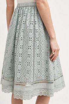 Catriona Midi Skirt - anthropologie.com