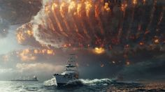 'Independence Day: Resurgence' makes up ground overseas with $102.1 million; elsewhere in the U.S., 'The Shallows' has a sharper bite than expected, while 'Free State of Jones' and 'The Neon Demon' are D.O.A.