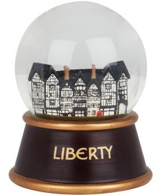 Liberty Christmas Snow Globe, Liberty London. Shop more novelty gifts from teh Liberty London collection online at Liberty.co.uk