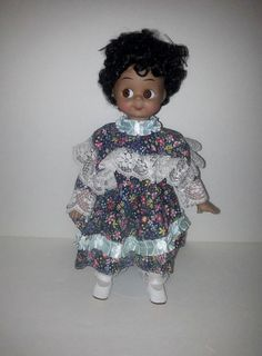 African American Porcelain Collectable Doll Maxine    by RosiesHut, $15.00
