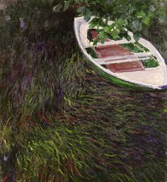Claude Monet - La Barque,1887