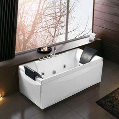Lilian K-1077 Ευθύγραμμη Μπανιέρα Υδρομασάζ 2 Ατόμων με Μπαταρία 175χ82  - FLOBALI #ΜΠΑΝΙΟ #Μπανιέρες #Ευθύγραμμες, #bath #bathtub #bathtubs #bathtubdesign #bathdesign #bathdecor #bathdesigns #bathdesigner #bathdesignideas #design #designs #designbathroom