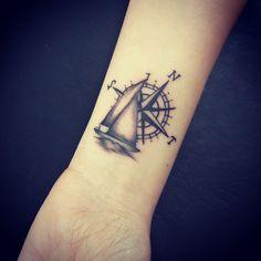 #compass #ship #tattoo #dövme #marmaris #marmarisinkbebek #family #initials - http://www.marmarisink.com/compass-ship-tattoo-dovme-marmaris-marmarisinkbebek-family-initials/