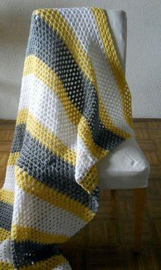 Cute baby blanket - no pattern