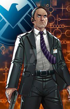 Agent Coulson - Director of S.H.I.E.L.D. by JamieFayX.deviantart.com on @DeviantArt
