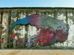 Natalia Rak.. . #streetart