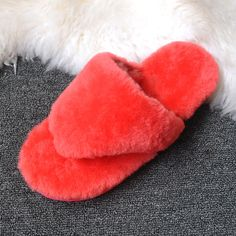 4fa415e46e03d7 UVWP New Natural Sheepskin Furry Home Slippers Women Winter Warm Fur  Slippers 2017 Ladies Cute Wool Indoor Slipper House Shoes