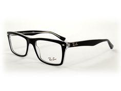 Ray Ban RB5287 2034 52 Top Black On Transparent (Brillen) Brillen online kaufen