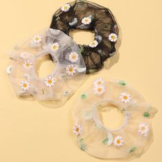 Style: TrendyType: Hair RopeMain Color: 3 ColorsSize: About GauzePackage X Hair Rope Cute Jewelry, Hair Jewelry, Diy Hair Scrunchies, Sewing Crafts, Sewing Projects, Accesorios Casual, Elastic Hair Bands, Diy Hair Accessories, Christian Lacroix