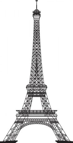 Pin By Oceanic Blues On Silhouette Cakes Eiffel Tower Clip Art