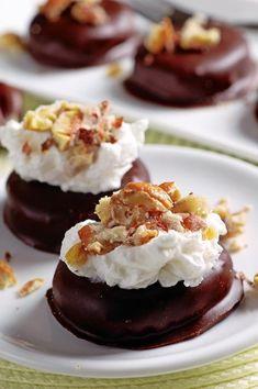 GAŠTANOVÉ jazýčky: Dezert, za ktorý vás budú na rukách nosiť Panna Cotta, Baked Potato, Pudding, Cheesecake, Ethnic Recipes, Baking, Food, Pantone, Fruit