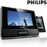 PHILIPS®  7 INCH PORTABLE DOCKING ENTERTAINMENT SYSTEM  Model: DCP746 (R)  Retails @ $149.95  $59.99