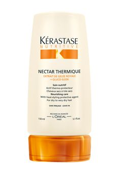 Kerastase Nectar Thermique Leave In - best thermal protection I have ever used, leaves my hair soft, hydrated, and protected!