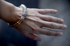 Armbånd, DIY, skinn, sølv, bracelet