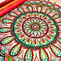 From Hand-Drawn Mandalas, Volume 2.