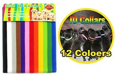 PETHINGR ID Collars12 Colors Adjustable Velcro Easy way to keep track of your Puppies *** Read more  at the image link. (This is an Amazon affiliate link and I receive a commission for the sales and I receive a commission for the sales)