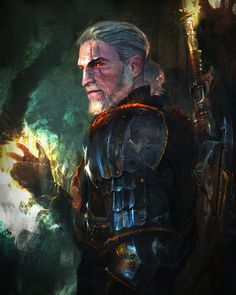 Geralt of Rivia (The Witcher), Murat Gül on ArtStation at…