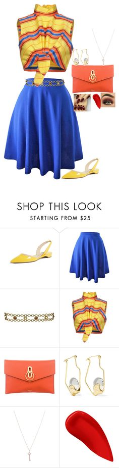 """#67"" by fernweh-wanderlust ❤ liked on Polyvore featuring Paul Andrew, Kenneth Jay Lane, Moschino, Mulberry, E L L E R Y, Tiffany & Co. and Lipstick Queen"