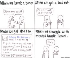 We Tell The World When Our Kids Get Bumps And Bruises, But Why Are We Silent If This Happens? Mental Health.