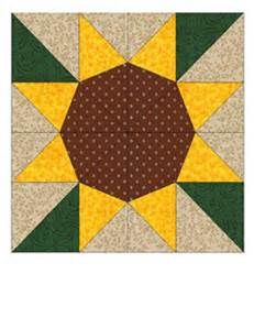 Sunflower Pattern Pieced Quilt Block - Bing images
