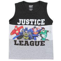6130d671814c5 Boys Tank Tops - Houston Kids Fashion Clothing. Justice League, Boy Outfits,  Dc Comics ...