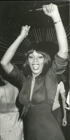 Donna Summer at Studio 54 she was a true lady and a legend!