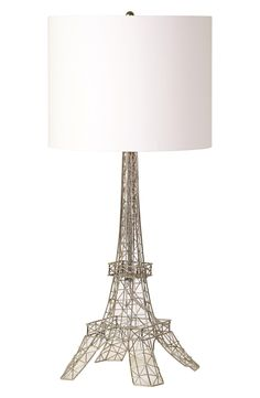 An Eiffel Tower-inspired lamp to add French charm to the bedroom.