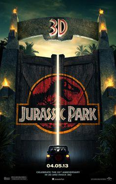 Jurassic Park -- Genetically engineered dinosaurs run amok at a tycoons island amusement park. Based on Michael Crichtons novel.