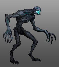 "ArtStation - League of Legends: Season Start 2018 ""CLIMB"" concepts, Jason Chan Dark Creatures, Alien Creatures, Fantasy Creatures, Mythical Creatures, Monster Concept Art, Monster Art, Zombie Monster, Creature Concept Art, Creature Design"
