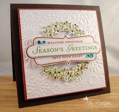 Beautiful Christmas card.