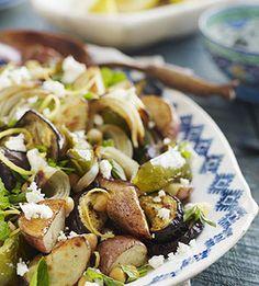 Meatless Mondays: Greek-Style Roasted Vegetables #myplate