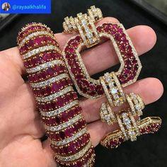 Diamond Bracelets Cuffs & Bangles : Raya Al-Khalifa. Made My Heart Skip A Beat… Diamond Bracelets Cuffs & Bangles : Raya Al-Khalifa. Made My Heart Skip A Beat Or Two! Ruby Jewelry, Bridal Jewelry, Diamond Jewelry, Fine Jewelry, Diamond Bracelets, Gemstone Bracelets, Jewelry Bracelets, Bangle Bracelet, Ladies Bracelet