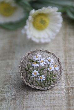 Awesome Most Popular Embroidery Patterns Ideas. Most Popular Embroidery Patterns Ideas. Embroidery Jewelry, Embroidery Applique, Floral Embroidery, Cross Stitch Embroidery, Embroidery Patterns, Brooches Handmade, Fabric Jewelry, Blackwork, Needlework