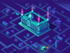 Initial exploration for an upcoming project set in the city of Mumbai, with the iconic Taj mahal hotel in focus. The Tuk-tuk helps one navigate through the city. Working on a few more landmarks htt...