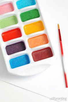 DIY : How to make Water Colors at Home | Art  Design