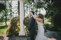 First Look. Tacoma Park. OneButton Photography