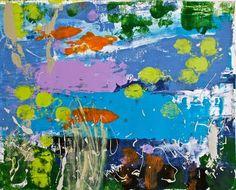 "Saatchi Art Artist Geoff Howard; Painting, ""LTM10 Strange Fish"" #art"