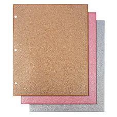 be7a383b7d5d6 Divoga 2 Pocket Paper Folders Glitter Collection Letter